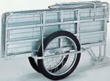 昭和ブリッジ アルミ製折りたたみリヤカー マルチキャリー SMC-1 「趣味生活雑貨セレクトショップ」 I-Land <アイランド>