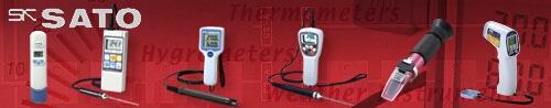 佐藤計量器製作所の糖分・塩分濃度計、ph計、赤外線放射温度計